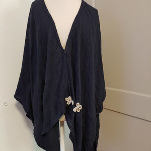 Soft Surroundings Shawl Wrap Cardigan